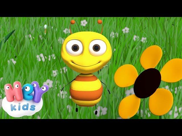 С пчелкой я дружу — Жу-жу-жу — Детские песенки