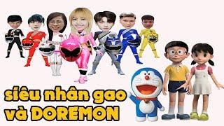 siêu nhân gao superman và dorenon - Đoàn Vlog