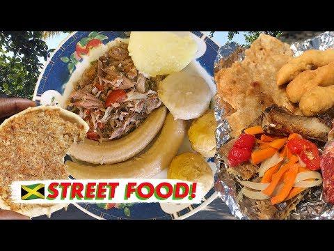 🇯🇲 Amazing Jamaican Street Food in Port Antonio | Vlog Jamaica 2019