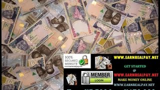 MAKE MONEY ONLINE IN NIGERIA INTO YOUR LOCAL BANK ACCOUNT!