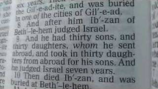 Judges 12 Holy Bible (King James)