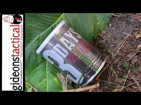 Survival Kit In A Can: Omega Survival Supply