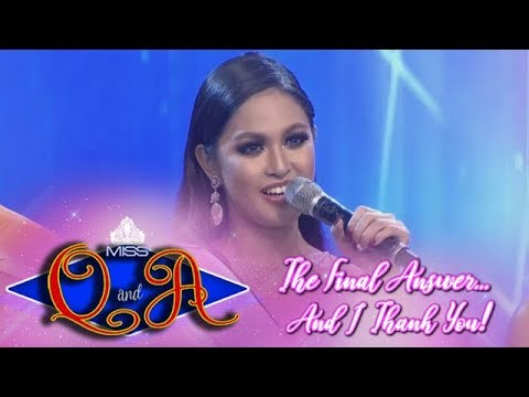It's Showtime Miss Q & A Grand Finals: Lars Pacheco | Balaka Judge