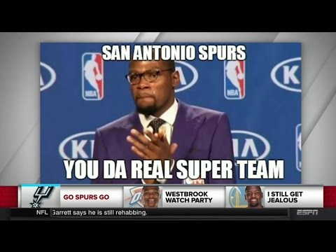 Are The San Antonio Spurs The Real NBA Super Team? - SportsNation