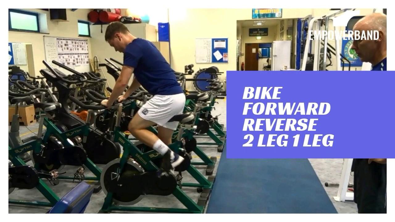 Ankle Strengthening & Rehabilitation Exercise For Football Players; Gym Bike