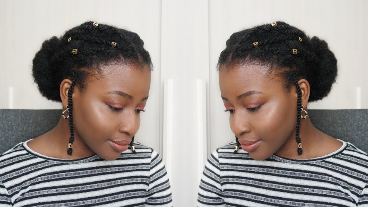 Incroyable Coiffure CHIC Cheveux Crépus/Nappy/Afro | Saint-Valentin, Sorties XI-92
