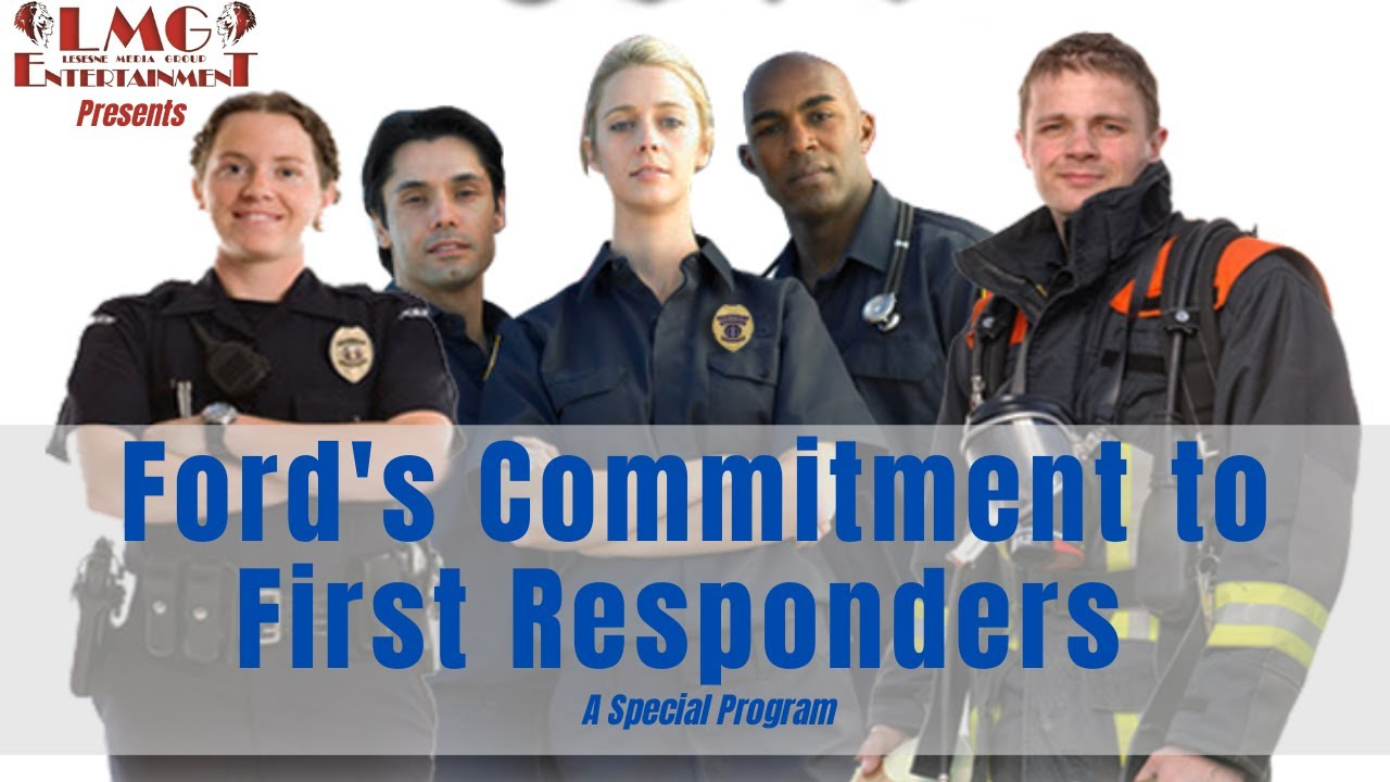 Ford supporting first responder and vets