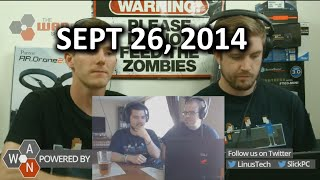 The WAN Show - #Bendgate, Maxwell GM200 Rumours - September 26, 2014