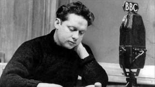 Dylan Thomas reciting his villanelle