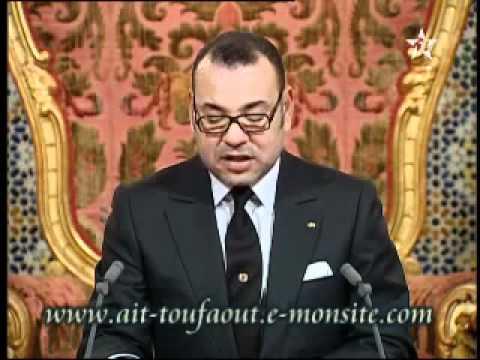 Discorso del re Mohammed VI alla nazione