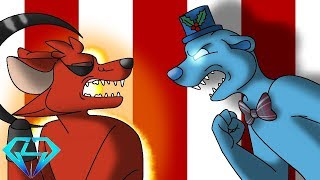 Minecraft Fnaf Grim Foxy Vs Freddy Frostbear (Minecraft Roleplay)