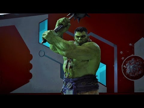 Ссора Тора и Халка.«Знаешь свою кличку?Ты-Тупой Мститель!»  ► ™️Тор  Рагнарёк» (2017 )