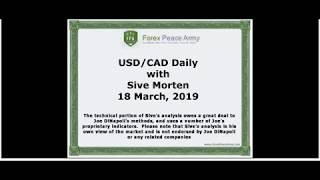 ForexPeaceArmy | Sive Morten Daily, USD/CAD, 03.18.2019