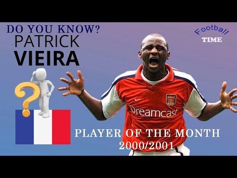 Player Of The Month On Season 2000/2001 | Do You Know?