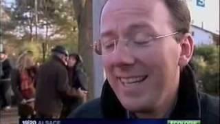 Repas de Noël des cigognes sur France 3
