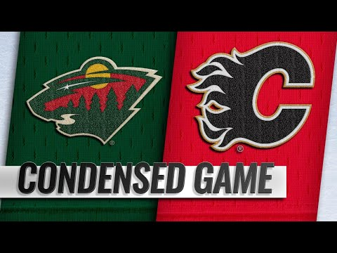 12/06/18 Condensed Game: Wild @ Flames