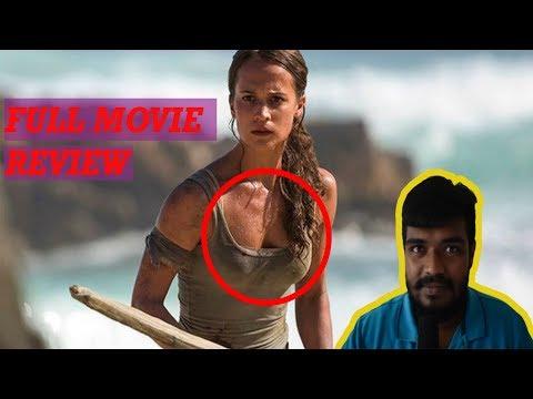TOMB RAIDER - Official Trailer review/ Alicia Vikander/Walton Goggins/Dominic West/Daniel Wu