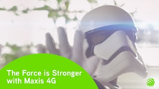 Maxis 4G presents: Star Wars The battle between fast and slow continues