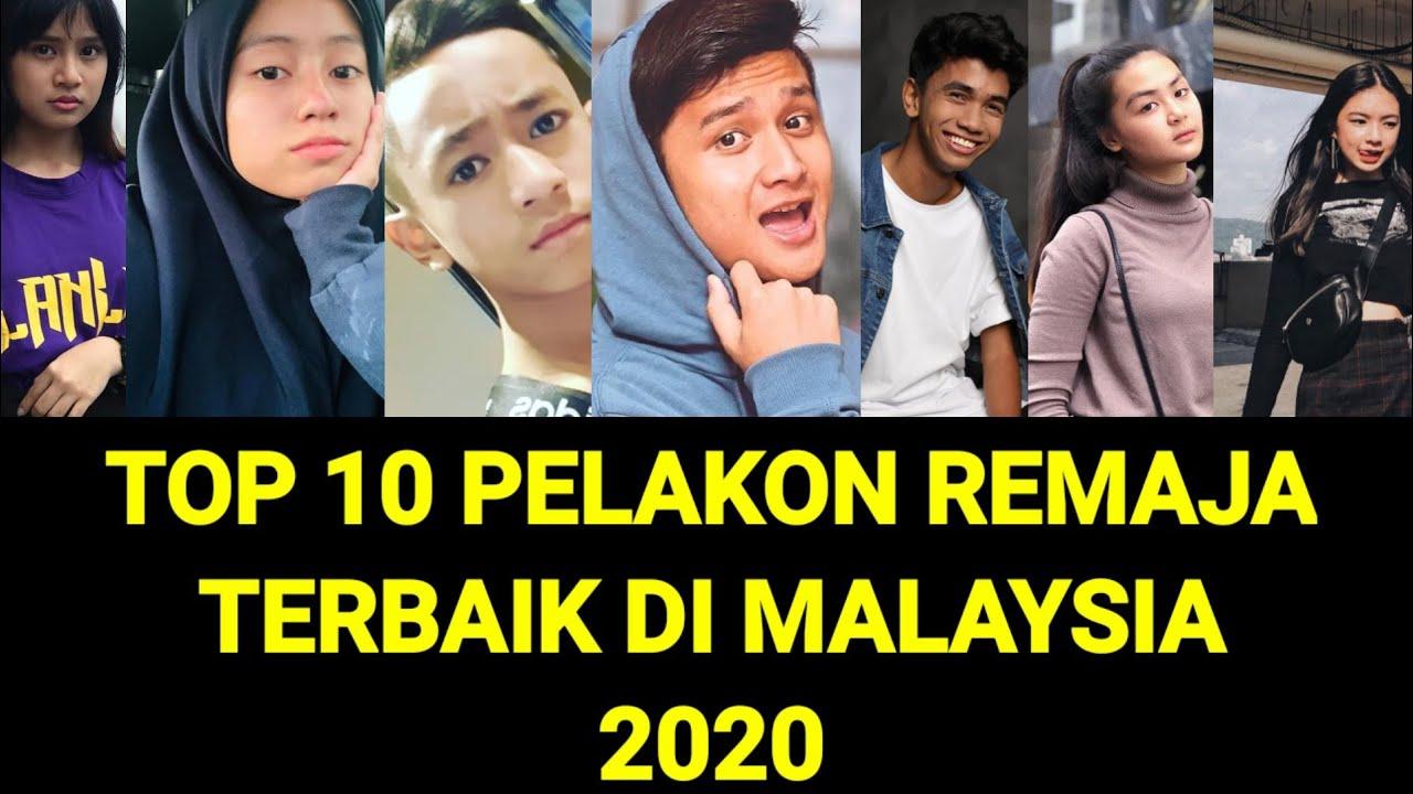Download TOP 10 PELAKON REMAJA DI MALAYSIA 2020