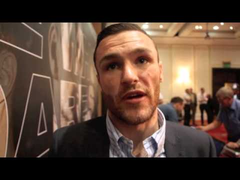 JON SLOWEY REMATCHES KRIS HUGHES FOR VACANT CELTIC TITLE IN GLASGOW (INTERVIEW)