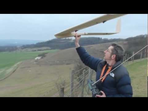 flying wing glider