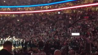 Paul Pierce introduced for final time against Boston Celtics