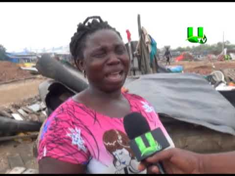Demolition exercise renders squatters homeless in Tema