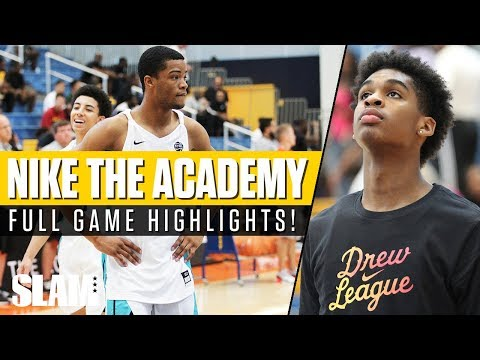 Cassius Stanley vs Josh Christopher! Nike The Academy Full Game Highlights