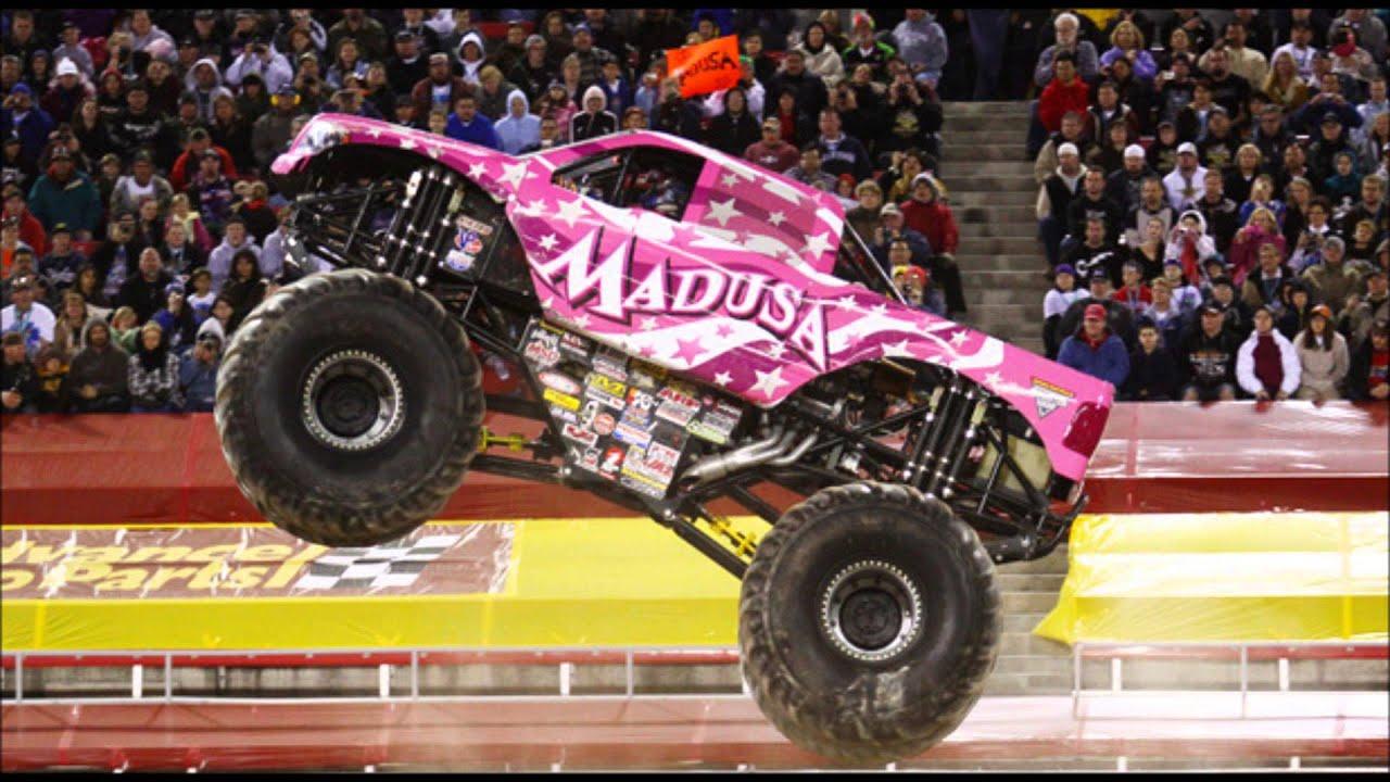 Ausmalbild Madusa Monster Truck: Madusa Theme Song