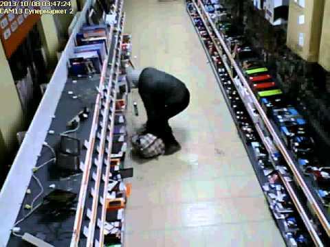 Дерзкая кража в ДНС-Волгоград