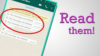 How To Reading Deleted WhatsApp Chats