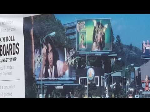 Billboard Art Project on Sunset Strip in West Hollywood, CA