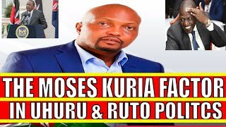 Moses Kuria Factor in Uhuru Kenyatta and William Ruto Politics in Central