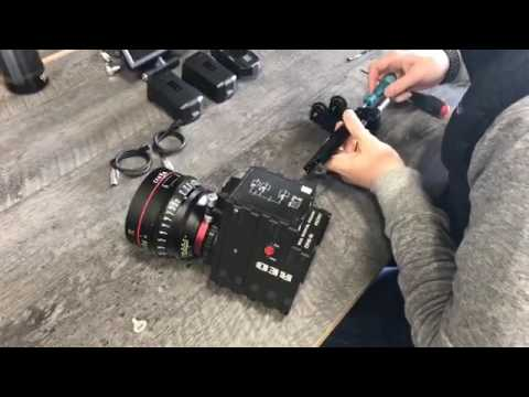 Learn how to install a RED Digital Cinema camera on a MōVI Pro. FB LIVE - 11/17/2016