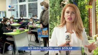Stirile Kanal D (01.09.2021) - NOI REGULI PENTRU ANUL SCOLAR! | Editie de pranz