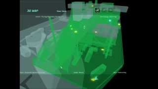 Splinter Cell Double Agent - Stealth Take Down 2# + 3D Map