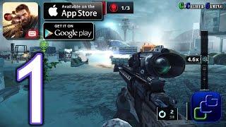 Sniper Fury Android iOS Walkthrough - Gameplay Part 1 - Murmansk
