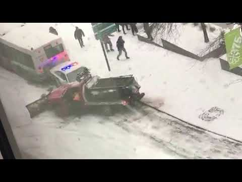 December 5th, 2016 Downtown Montreal accident (Beaver hall hill)
