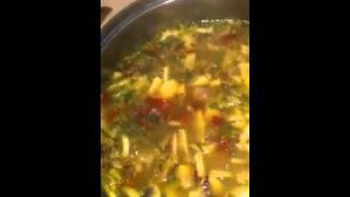 Mushroom Barley Quinoa Soup