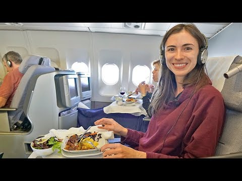 BUSINESS CLASS ON LUFTHANSA A-340 - WAYS TO UPGRADE