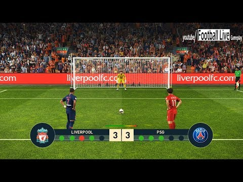 PES 2019 | Liverpool FC vs PSG | Penalty Shootout | Salah vs Neymar
