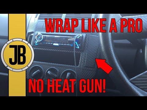Vinyl Wrap Your Car's Interior! CARBON FIBRE DASHBOARD | Pointless Polo Project