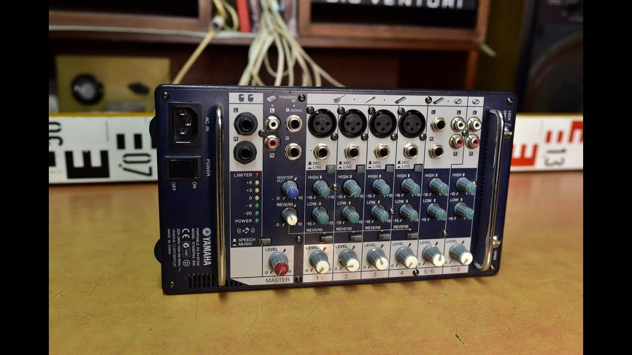 Yamaha Portable Pa System Mod Stagepas 300 Mixer