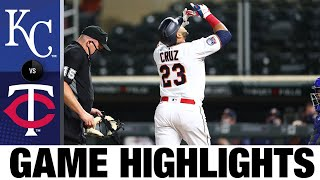 Nelson Cruz belts two homers in Twins' win | Royals-Twins Game Highlights 8/17/20