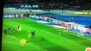 France vs Ukraine Barrage les buts all goals 0 : 2 aller de la Coupe du Monde 2014 Brésil
