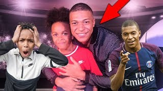 The Day I Played Football with KYLIAN MBAPPE!