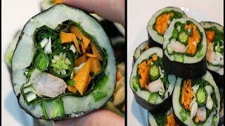 ENG 풋고추감자김밥 | Green chilli pot…