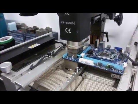 Fuimos al laboratorio de Gigabyte a reparar un Motherboard