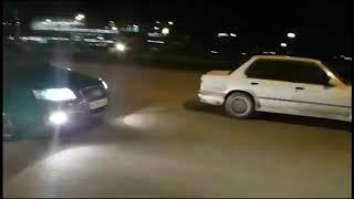 Audi A6 C6 2.8 (210hp) vs BMW e30 m50b25