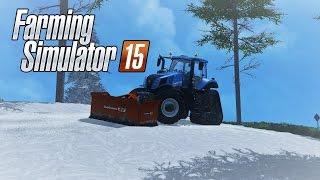 Farming-simulator 15 | La campagne belge sous la neige! | Episode 1